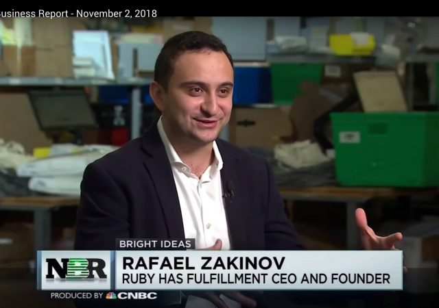Ruby Has Fulfillment Featured on CNBC's Nightly Business Report