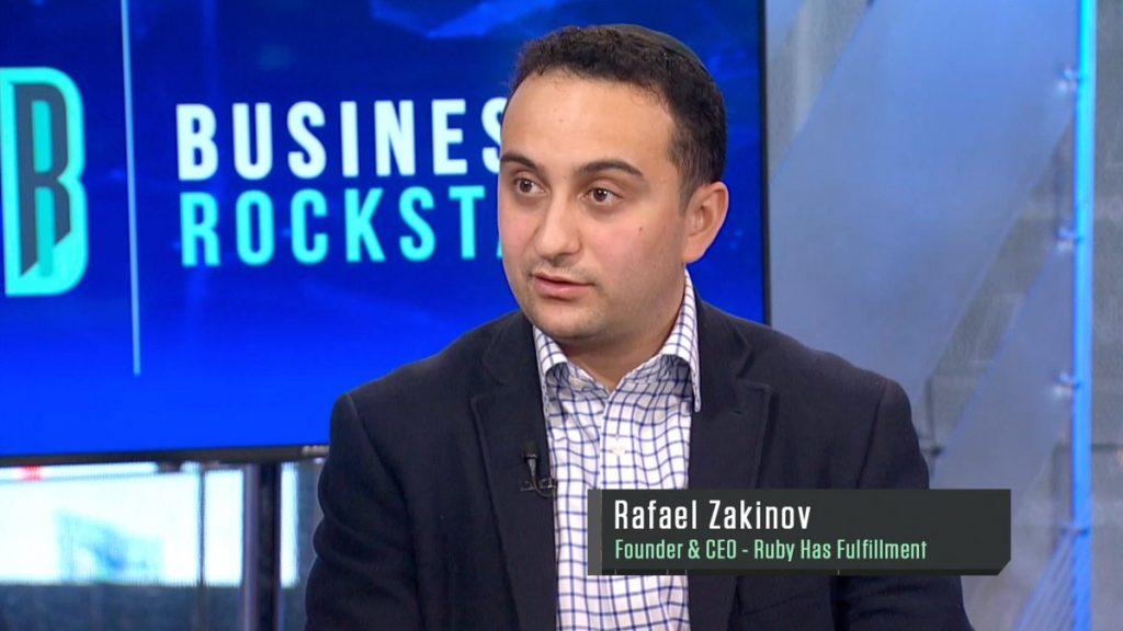 Business Rockstars Rafael Zakinov