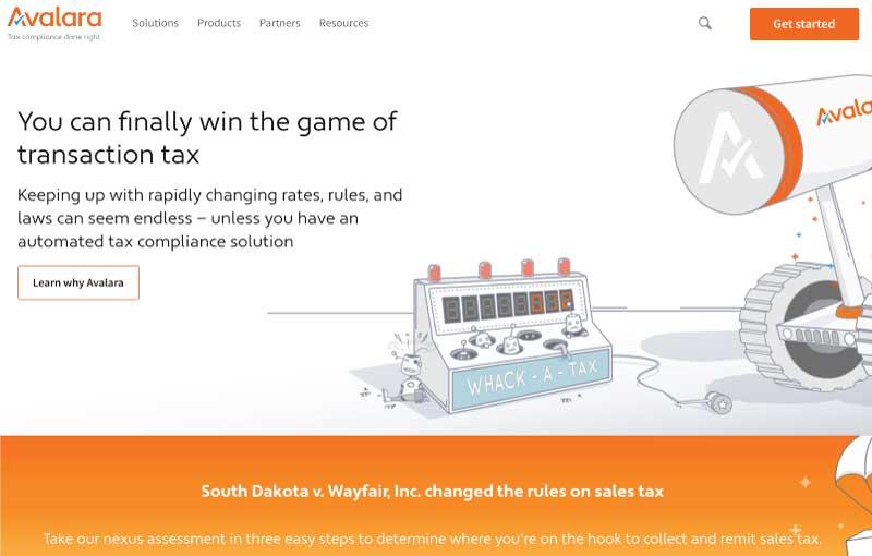 Avalara Tax Software