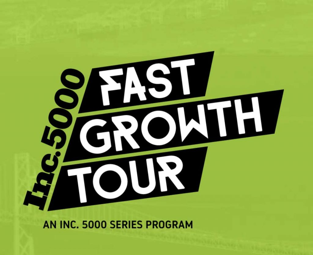 Inc 5000 Fast Growth Tour