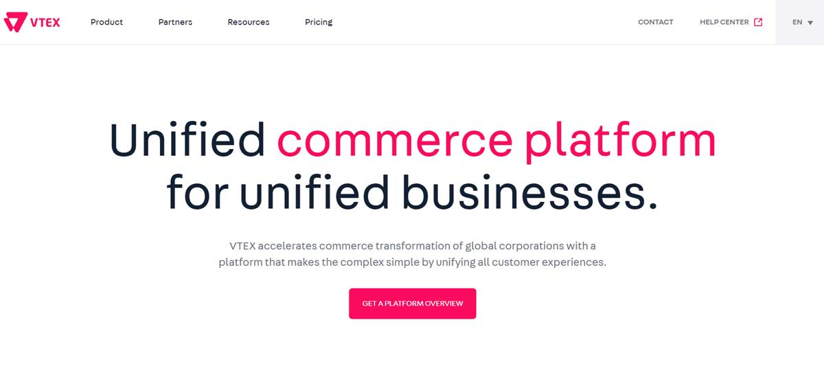 Ruby Has Partnership Homepage VTEX