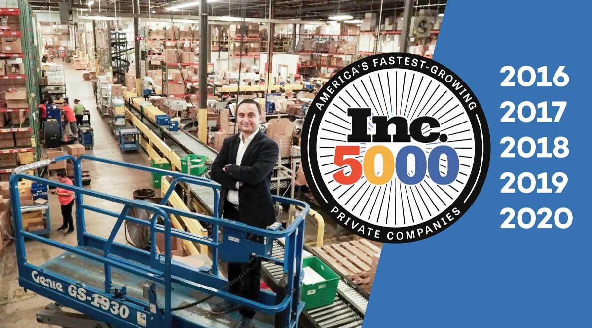 Inc5000 Ruby Has Fulfillment