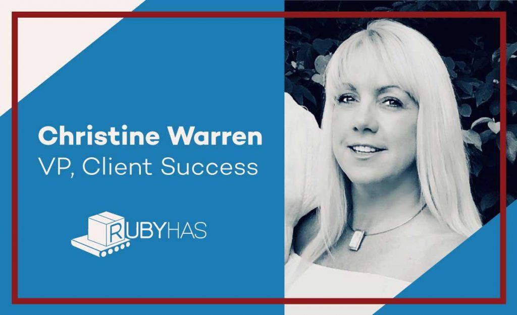 Christine Warren, VP Client Success