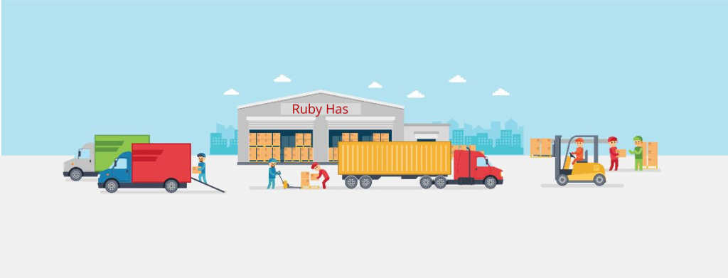Ruby Has Fulfillment Support Warehouse