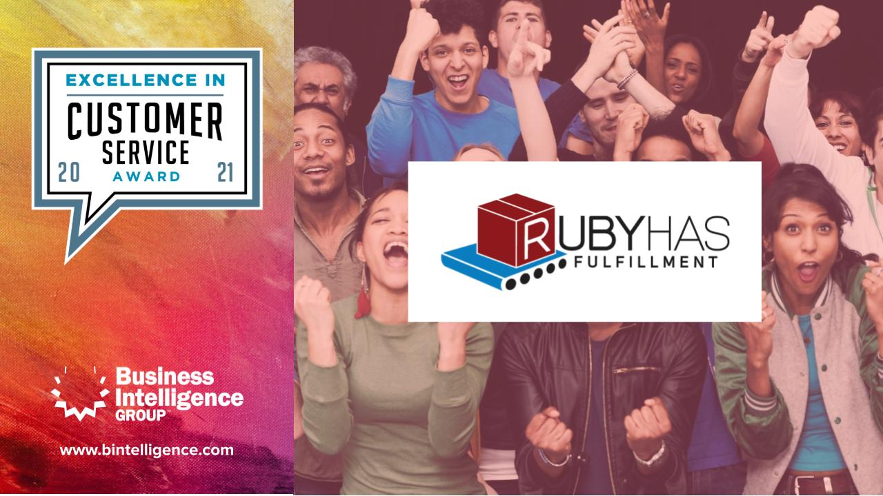 Ruby Has Wins 2021 Excellence in Customer Service Award