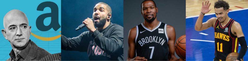 Overtime Funding Jeff Bezos, Drake, NBA Stars